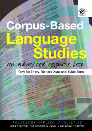 Corpus-Based Language Studies: An Advanced Resource Book (Paperback) book cover