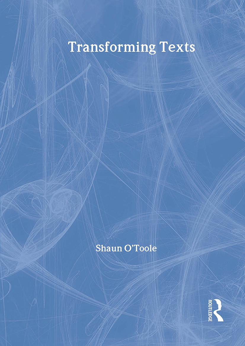 Transforming Texts: 1st Edition (Paperback) book cover
