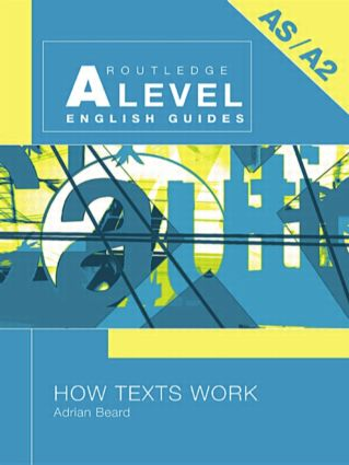 How Texts Work: 1st Edition (Paperback) book cover
