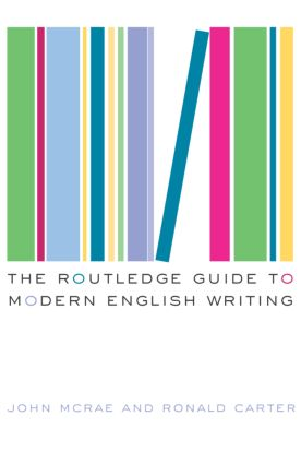 The Routledge Guide to Modern English Writing: 1st Edition (Paperback) book cover
