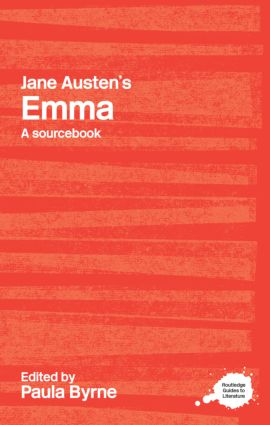 Jane Austen's Emma: A Routledge Study Guide and Sourcebook (Paperback) book cover