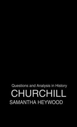 Churchill: 1st Edition (Hardback) book cover