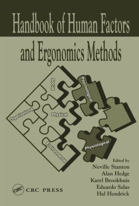 Handbook of Human Factors and Ergonomics Methods (Hardback) book cover