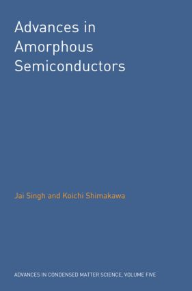 Advances in Amorphous Semiconductors: 1st Edition (Hardback) book cover
