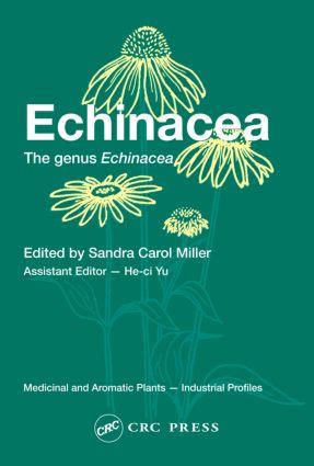 Echinacea: The genus Echinacea, 1st Edition (Hardback) book cover
