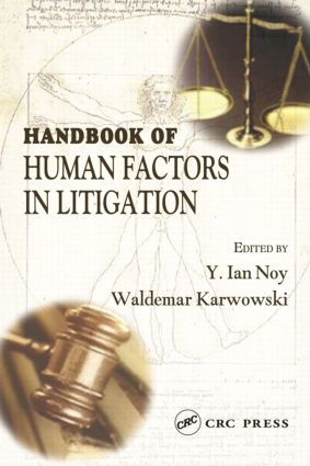 Handbook of Human Factors in Litigation (Hardback) book cover