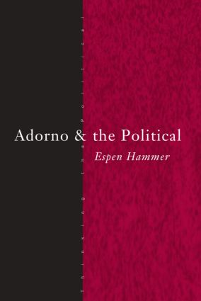 Adorno and the Political book cover