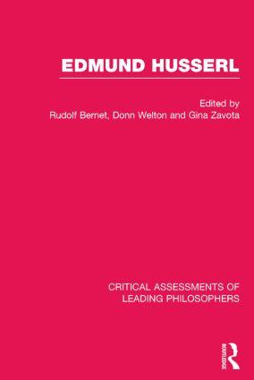 Edmund Husserl (Hardback) book cover