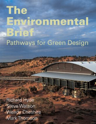 The Environmental Brief: Pathways for Green Design (Paperback) book cover