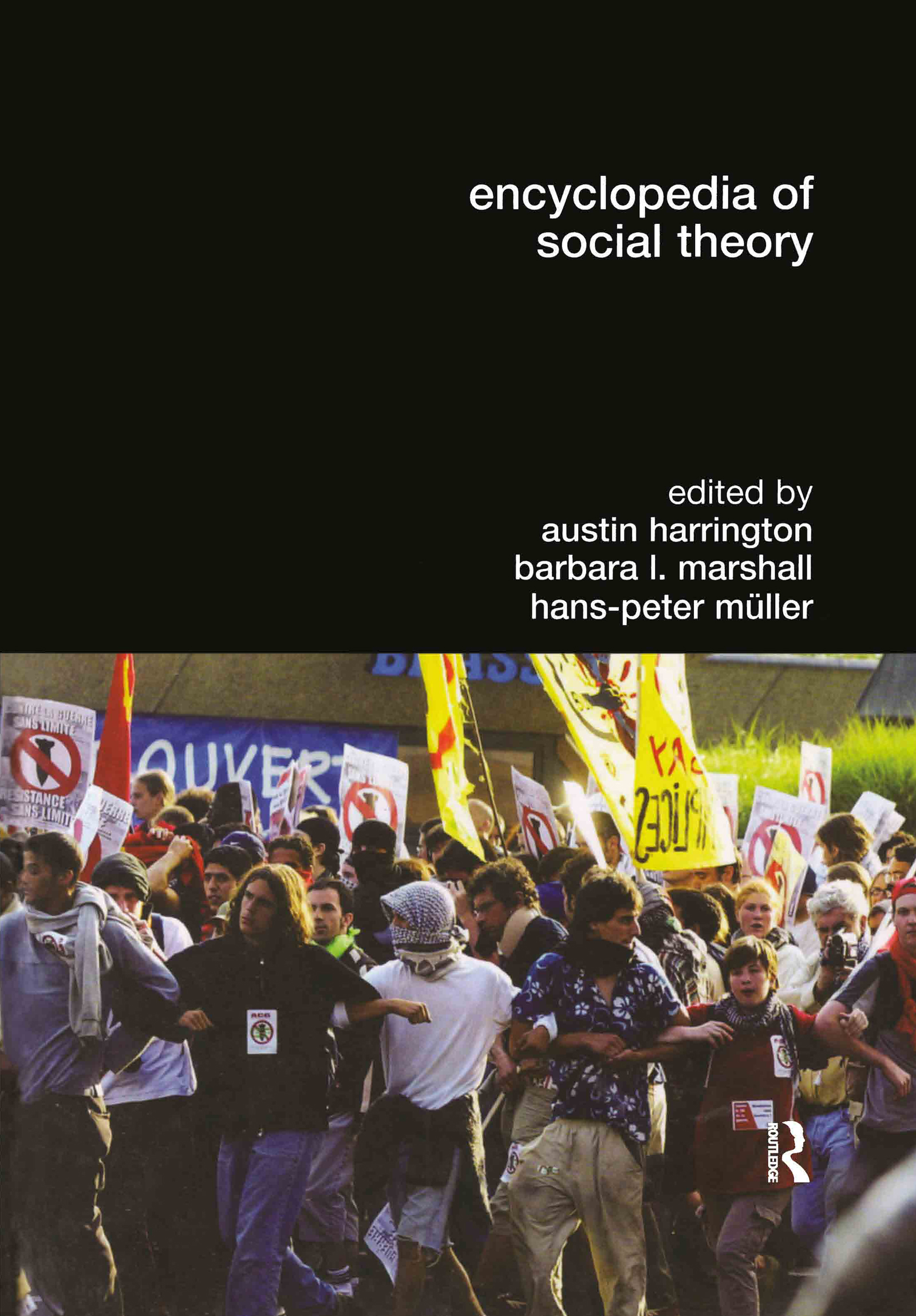 Encyclopedia of Social Theory (Hardback) book cover
