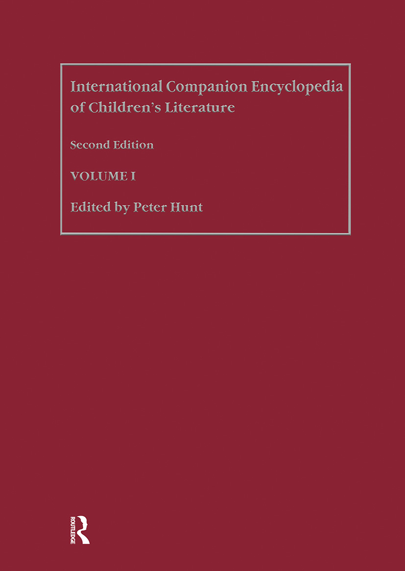 International Companion Encyclopedia of Children's Literature: 1st Edition (Hardback) book cover