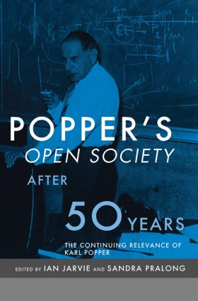 Popper's Open Society After Fifty Years (Paperback) book cover