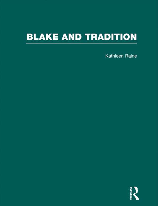 Blake & Tradition V2: 1st Edition (Hardback) book cover