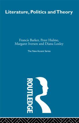 Literature Politics & Theory (Hardback) book cover