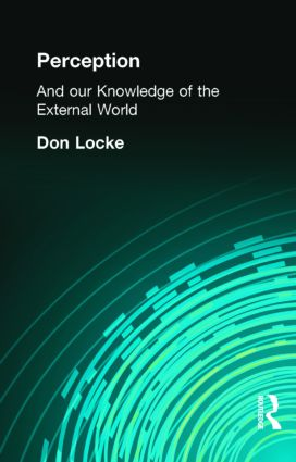 Perception: And our Knowledge of the External World (Hardback) book cover
