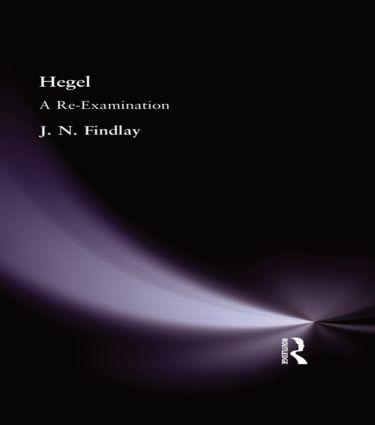 Hegel: A Re-Examination (Hardback) book cover