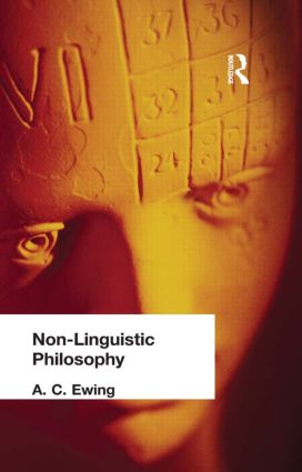 Non-Linguistic Philosophy (Hardback) book cover