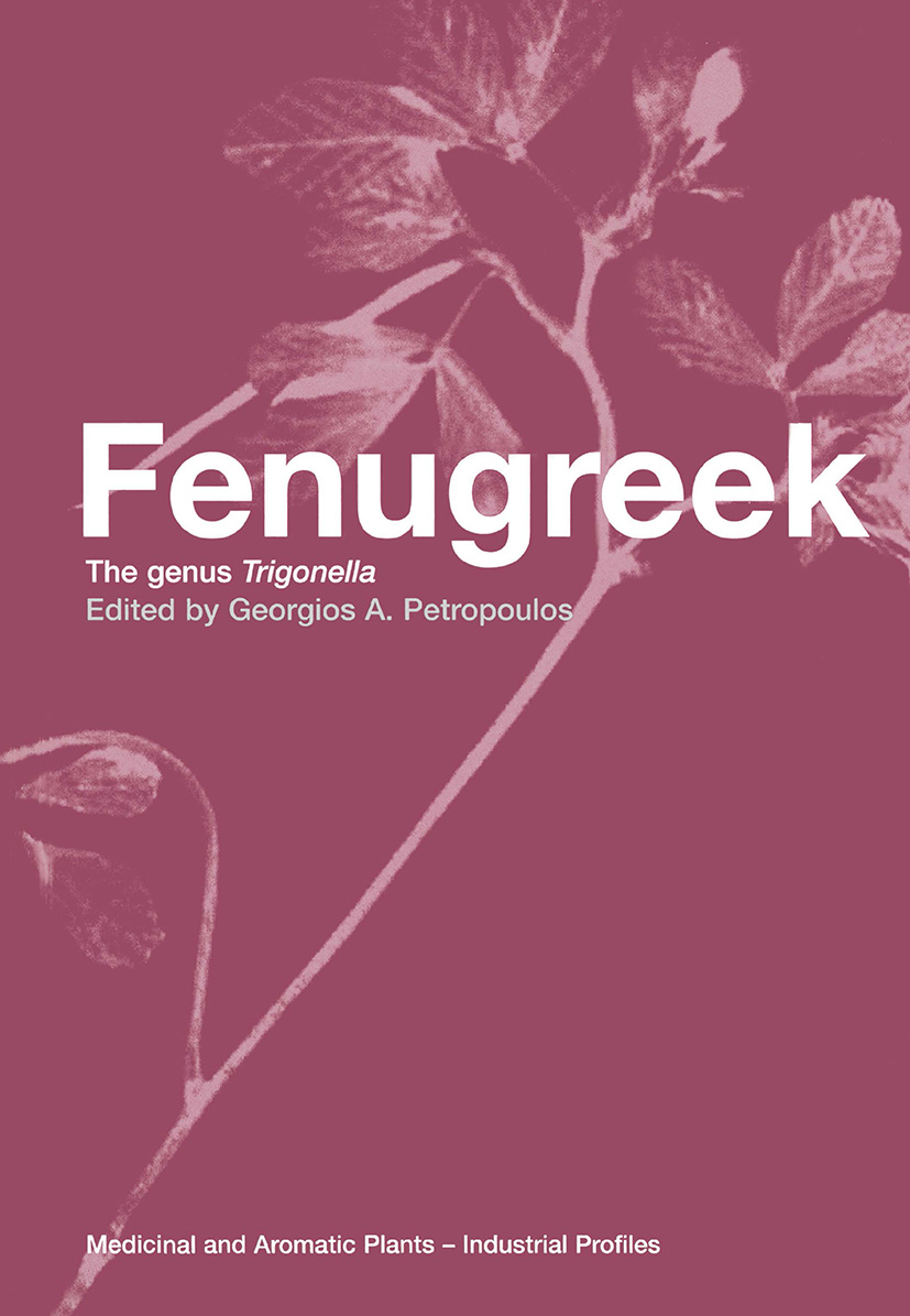 Fenugreek: The Genus Trigonella, 1st Edition (Hardback) book cover
