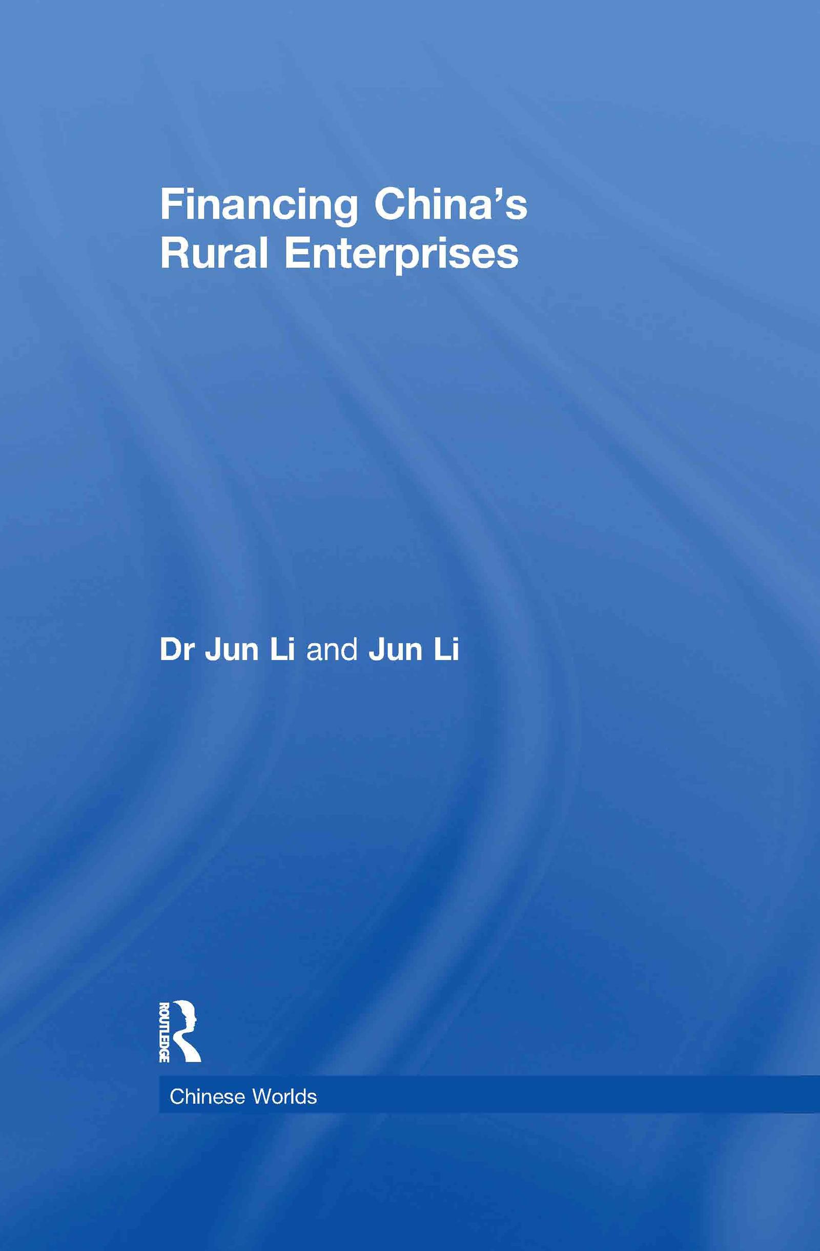Financing China's Rural Enterprises (Hardback) book cover