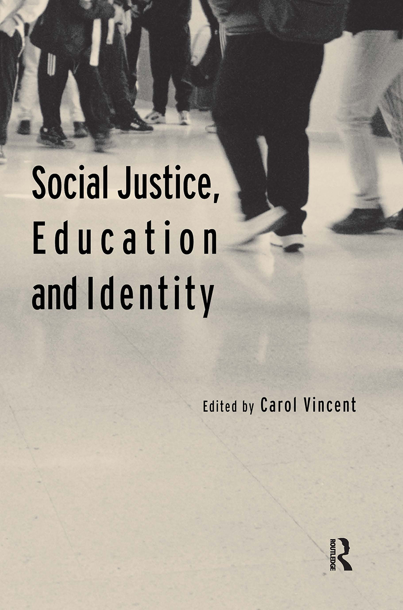 Social Justice, Education and Identity: 1st Edition (Paperback) book cover