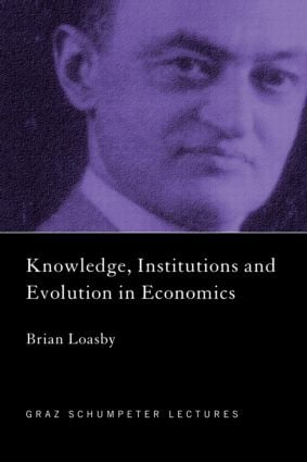 Knowledge, Institutions and Evolution in Economics (Paperback) book cover