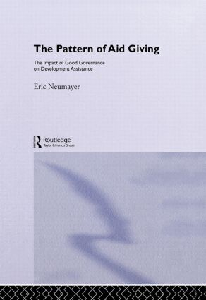 The Pattern of Aid Giving: The Impact of Good Governance on Development Assistance, 1st Edition (Hardback) book cover