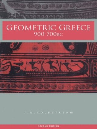 Geometric Greece: 900–700 BC, 2nd Edition (Paperback) book cover