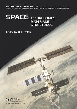 Space Technologies, Materials and Structures: 1st Edition (Hardback) book cover
