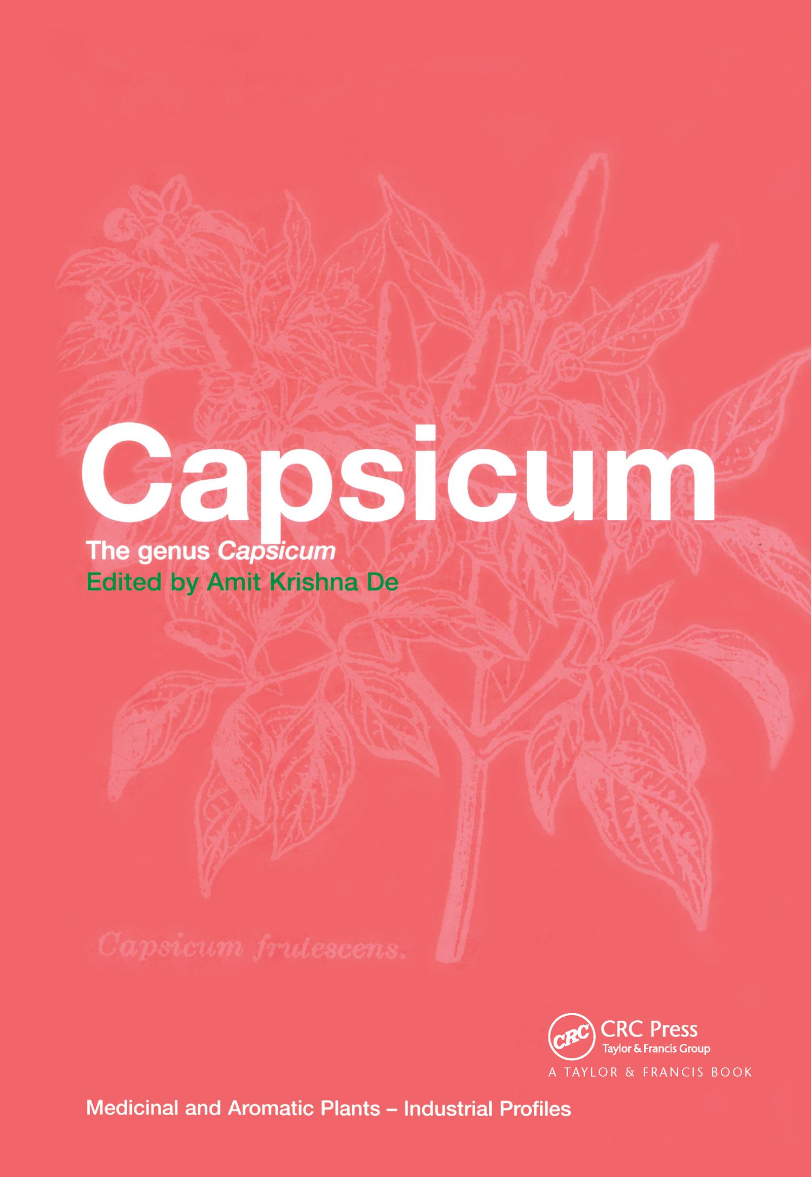 Capsicum: The genus Capsicum book cover