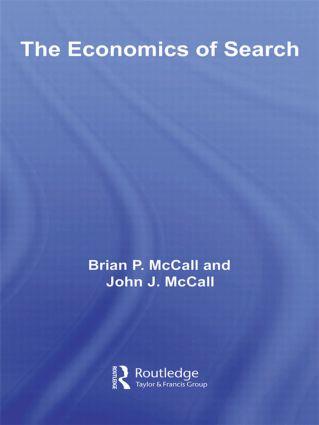 The Economics of Search (Hardback) book cover