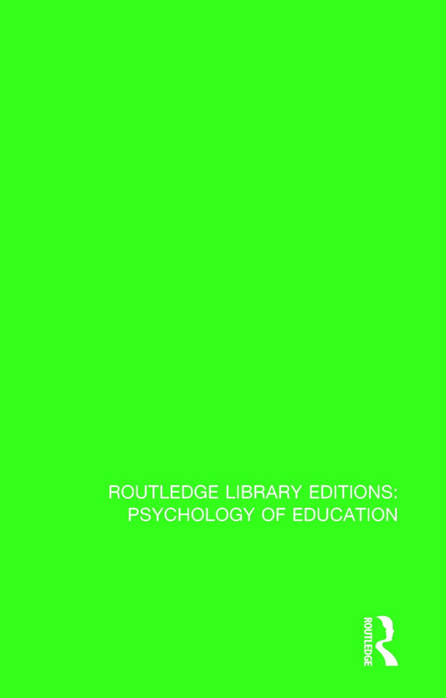Interpersonal Relations and Education: 1st Edition (Paperback) book cover