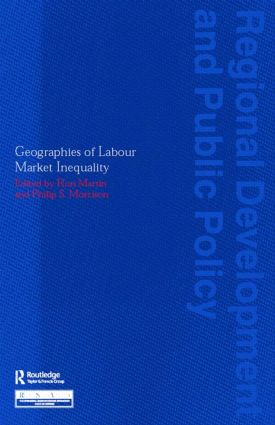 Geographies of Labour Market Inequality (Paperback) book cover