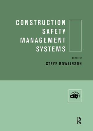 Construction Safety Management Systems (Hardback) book cover
