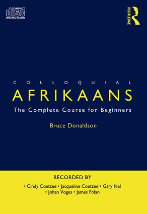 Colloquial Afrikaans: The Complete Course for Beginners book cover