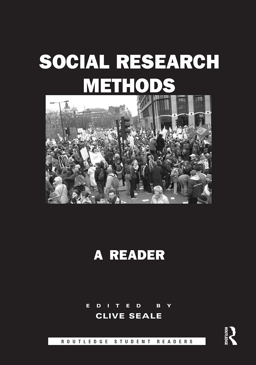 Social Research Methods: A Reader (Paperback) book cover