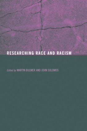 Researching Race and Racism (Paperback) book cover