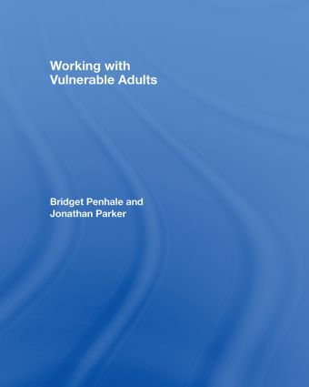 Working with Vulnerable Adults book cover