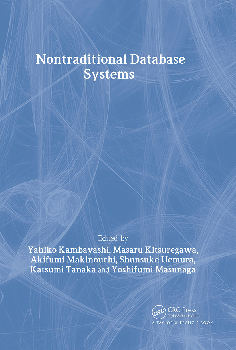 Nontraditional Database Systems: 1st Edition (Hardback) book cover