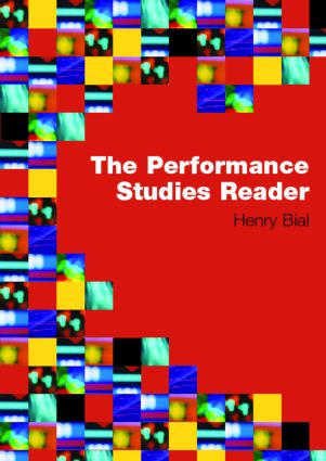 The Performance Studies Reader book cover