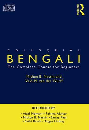 Colloquial Bengali (Audio CD) book cover