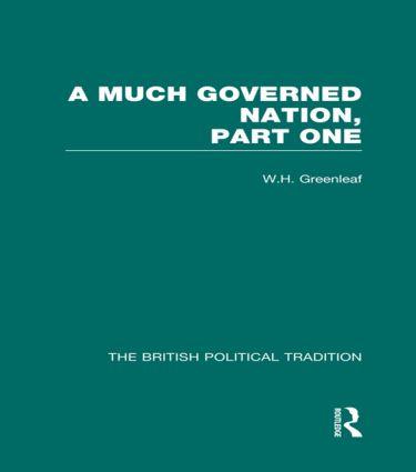Much Governed Nation Pt1 Vol 3 (Hardback) book cover