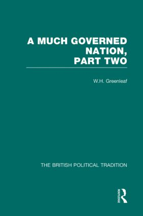 Much Governed Nation Pt2 Vol 3: 1st Edition (Hardback) book cover