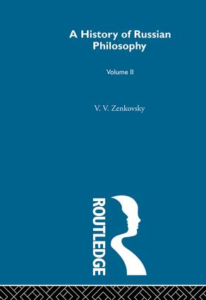 History Russian Philosophy V2: 1st Edition (Hardback) book cover