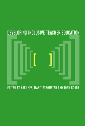 Developing Inclusive Teacher Education: 1st Edition (Paperback) book cover