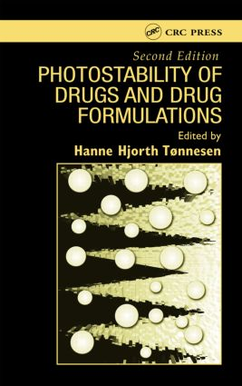 Photostability of Drugs and Drug Formulations: 2nd Edition (Hardback) book cover