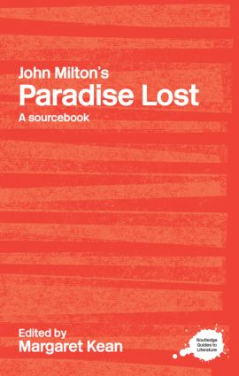 John Milton's Paradise Lost: A Routledge Study Guide and Sourcebook, 1st Edition (Paperback) book cover