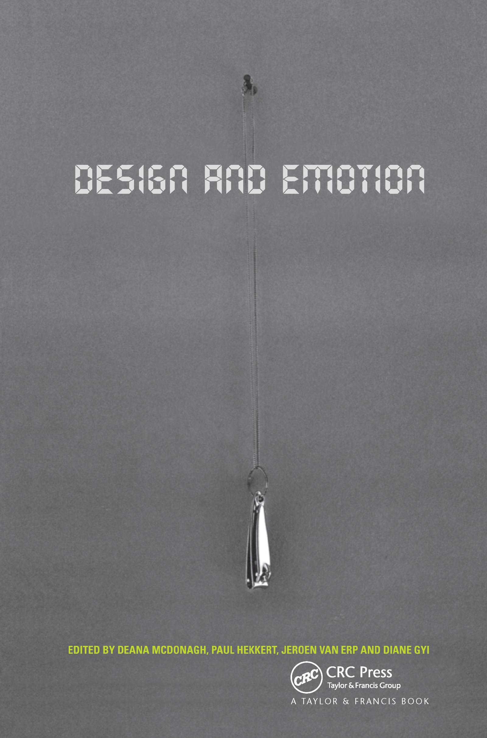 Design and Emotion: 1st Edition (Hardback) book cover