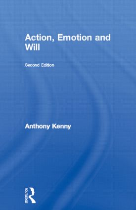 Action, Emotion and Will: 2nd Edition (Paperback) book cover