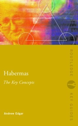 Habermas: The Key Concepts (Paperback) book cover