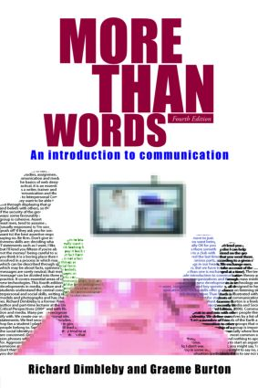 More Than Words: An Introduction to Communication, 4th Edition (Paperback) book cover